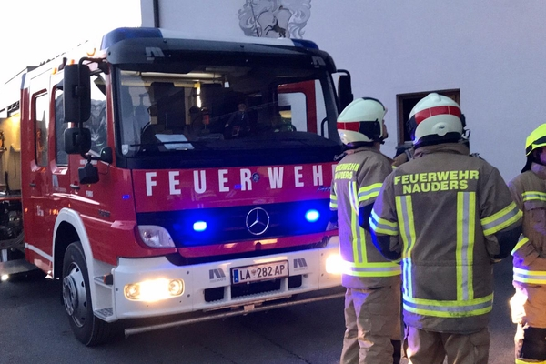 Brand in einem Gasthaus in Pfunds.